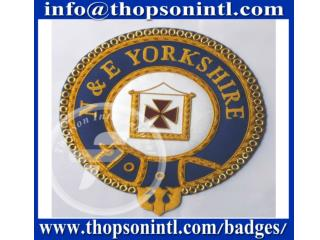 Knight Templar mantle badge