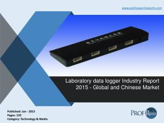 Laboratory Data Logger Industry Share, Size, Trends 2015 | Prof Research Reports