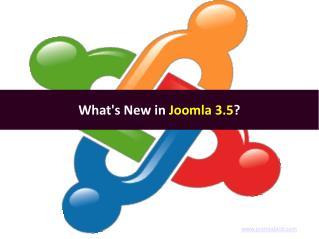 Joomla 3.5 - Joomla Upgrade/Migration Services