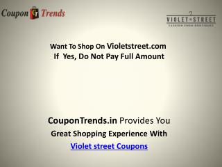 Violet Street Coupons