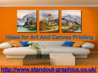 Ideas for Art And Canvas Printing