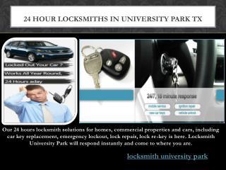 Locksmith University Park