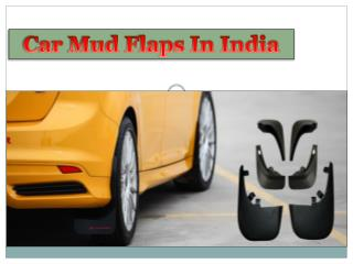 Car Mud flaps In India