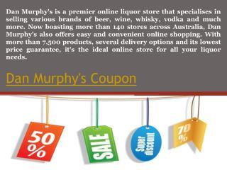 Dan murphy's promo code