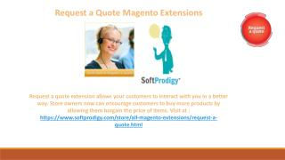 Request a Quote Magento eCommerce Extensions