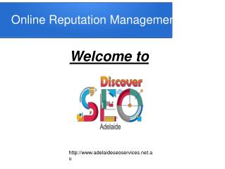 Online Reputation management Adelaide