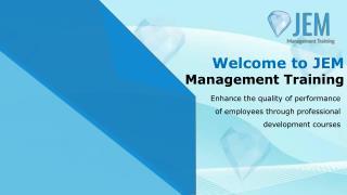 Management Courses Perth