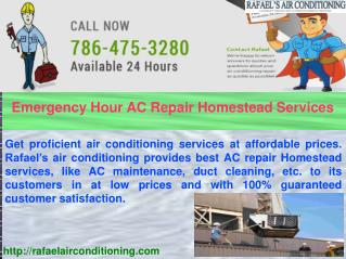 Get AC Repair Services Even In Emergency Hours