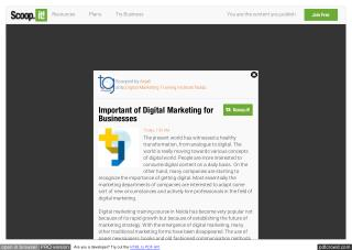 Important of Digital Marketing for Businesses