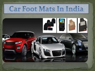 Car Foot  Mats In India