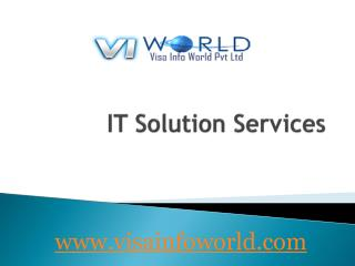 best and cheapest IT services in noida-visainfoworld.com