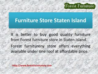 Furniture Store Staten Island