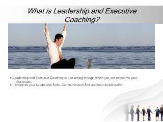 Leadership & Executive Coaching