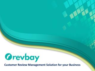 Customer Review & Feedback Management System for Business/Personal