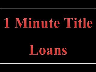 1 Minute Title Loans: Simply The Finest Financial Plans In Current Online Financial Market