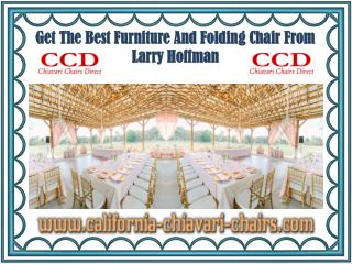 Get The Best Furniture And Folding Chair From Larry Hoffman