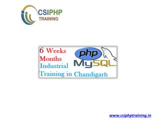 Training Institutes in Chandigarh