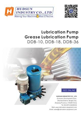 Lubrication Pump DDB Series,Grease Lubrication Pump DDB-10, DDB-18, DDB-36