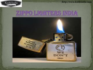Zippo Lighters India