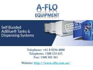 Lubrication Equipment with A-FLO