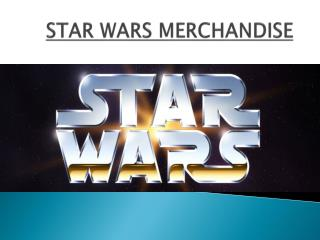 Star War Merchandise