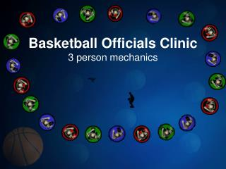 Basketball Officials Clinic 3 person mechanics