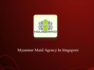 Myanmar Maid Agency