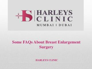 Some FAQs about Breast Enlargement Surgery