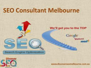 Best SEO Consultant Melbourne