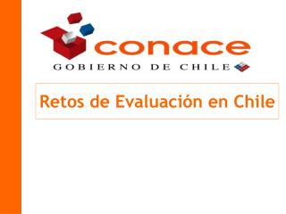 Retos de Evaluaci n en Chile