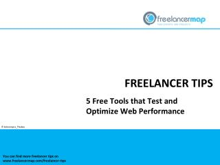 5 Free Tools that Test and Optimize Web Performance