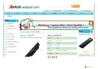 Akku Acer AO532h-2Dr