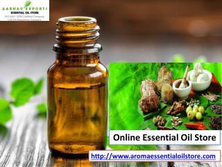 Organic essential oils at aromaessentialoilstore com!