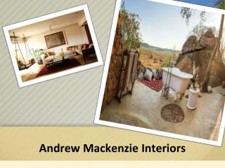 Interior Designers South Africa - Andrew Mackenzie