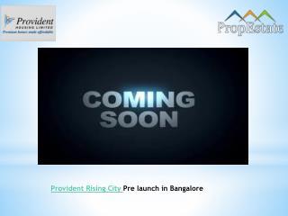 Provident Rising City Electronic City Bangalore