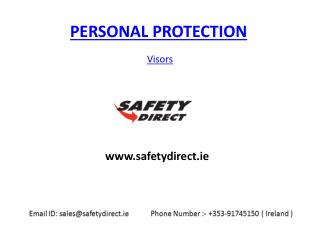Safety Direct Visors in Ireland