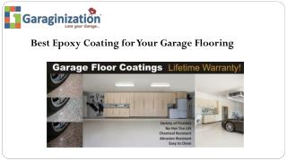Best Epoxy Coating for Your Garage Flooring