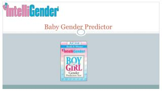 Baby Gender Predictor