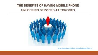 Benefits of Unlocking Smart Phone