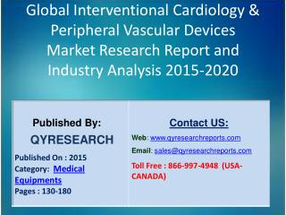 Global Interventional Cardiology & Peripheral Vascular Devices Industry 2015 Market Research Report