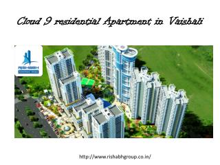 Cloud 9 residential apartments in vaishali