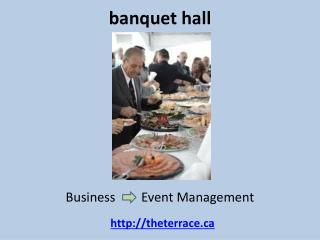 Banquet halls vaughan