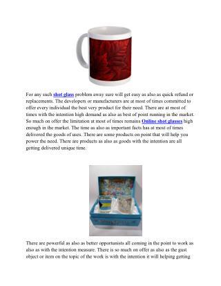 buy Online shot glasses,