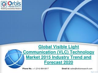 2015 Global Visible Light Communication (VLC) Technology Market Key Manufacturers Analysis