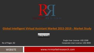 Intelligent Virtual Assistant Market 2015 – 2019: Worldwide Forecasts Report