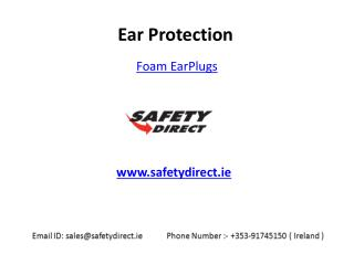 Best Foam EarPlugs in Ireland at SafetyDirect.ie