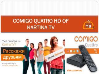COMIGO QUATRO HD OF KARTINA TV