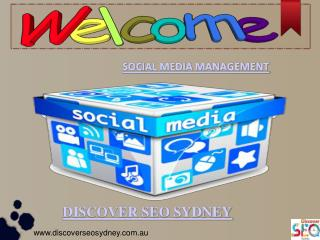 Best Social Media Management By Discover SEO Sydney