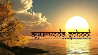 Ayurveda school   Ayurveda and Panchakarma Training Centre