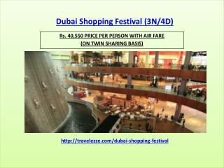 Dubai Shopping Festival (3N/4D)